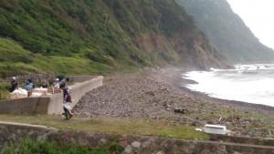 海岸清掃後2